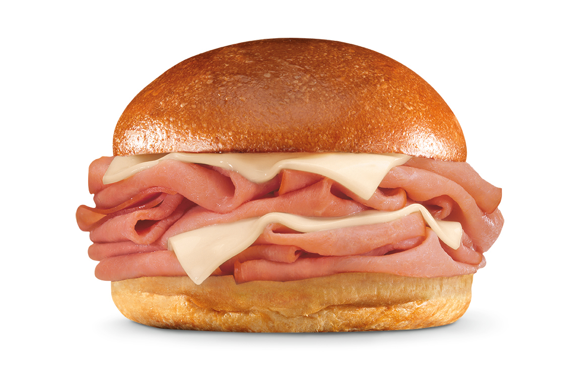 Hot Ham & Cheese Sandwich