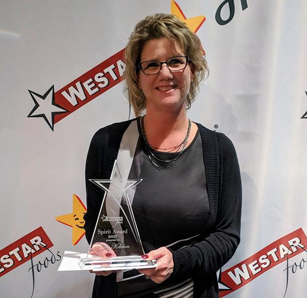 2018 Spirit Award Winner Cindy Kelchen